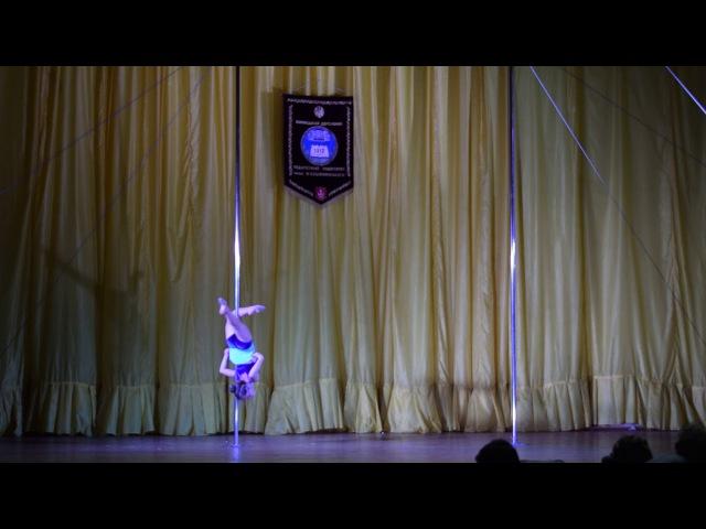 Зінченко Катерина Андріївна Sunrise Pole Studio POLE DANCE Юніори 12 17 років напівпрофесіонали