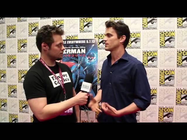 White Collar's Matt Bomer Keeps Superman Sexy