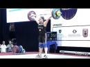 Women U17 - 75kg - 2017 EUROPEAN WEIGHTLIFTING CHAMPIONSHIPS U15 U17