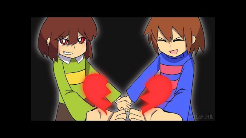 【UNDERTALE】VS キャラ & フラウィ Genocide if Root【手描きアニメ】
