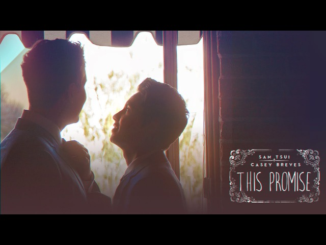 This Promise - Sam Tsui Casey Breves (Wedding Music Video)