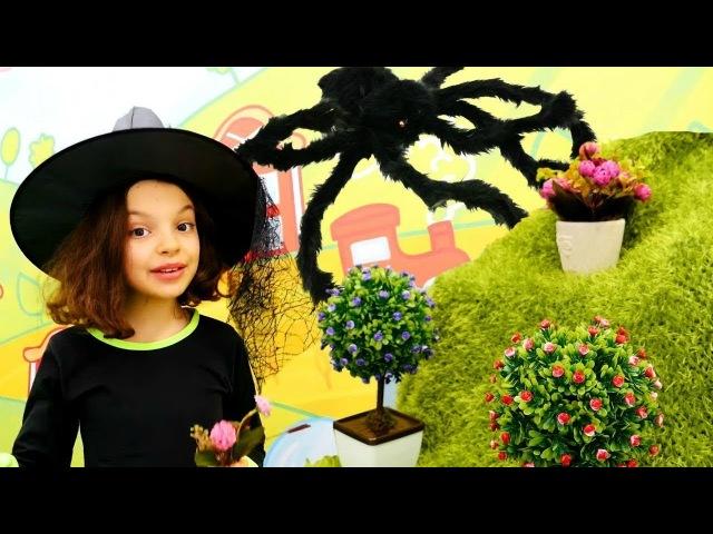 Видео для девочек - Подружка Кати и волшебный цветок