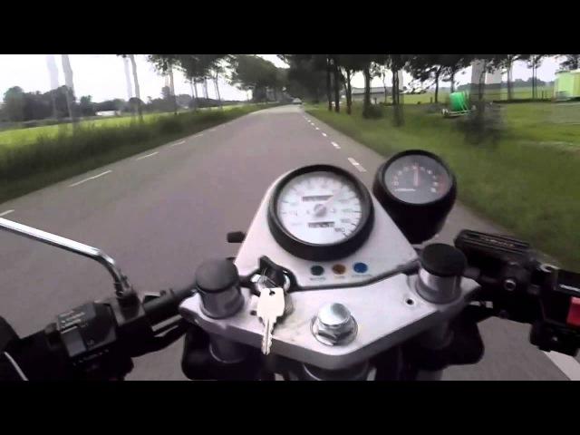 Touring Yamaha SRX 600, North Groningen, Holland