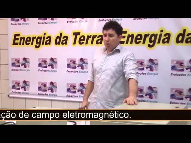 Captor de elétrons livres através do eletromagnetismo.