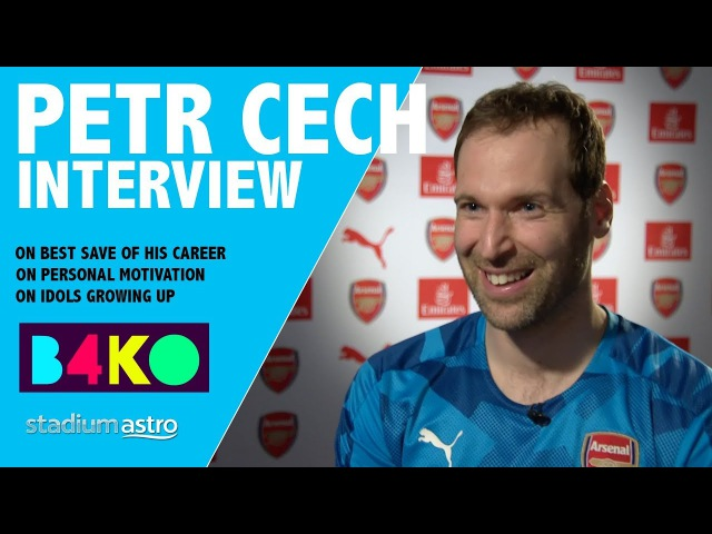 Petr Cech on the best save of his career and his idols B4KO Exclusive Astro SuperSport