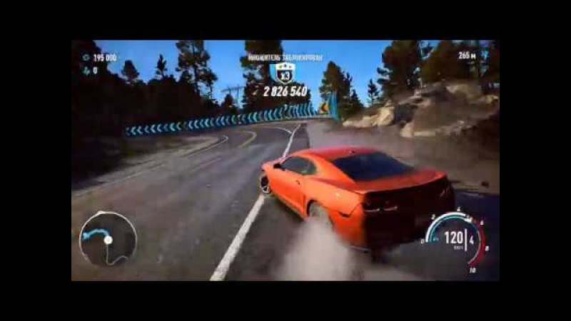 Need for Speed Payback Chevrolet Camaro Z28 Drift 399LVL