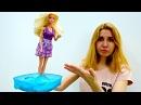 Барби застряла в бетоне. Играем в куклы. Мультики для девочек