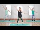 Amy Rosoff Davis 45 Minute Toning Workout Интервальная тренировка для проблемных зон гантели фитнес резинка