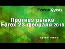 Прогноз рынка форекс на 23 02 2018