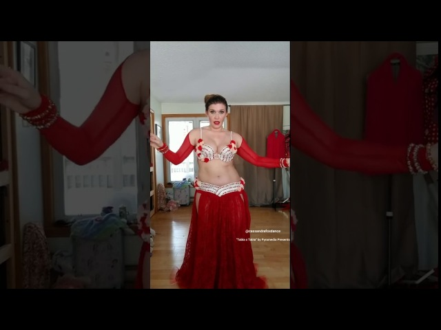 Cassandra Fox Dances to drum solo Tabla x Tabla