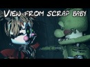 FNAF/SFM FNAF 6 Scrap Baby Office Jumpscare - view from animatronic