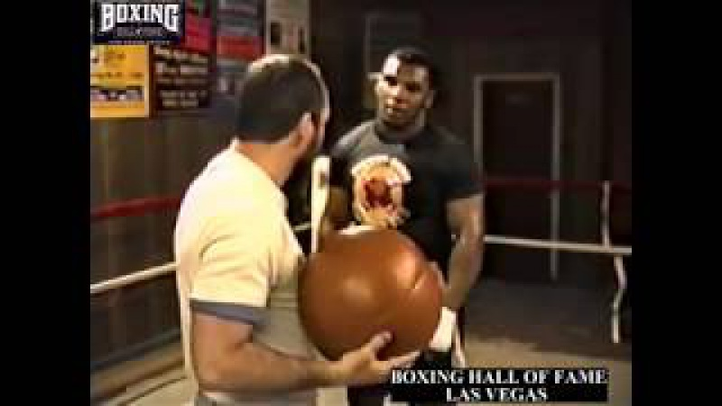Iron Mike Tyson Kevin Rooney Train At Tocco's for Smith February 11 1987