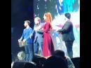 Вручаю музыкальную премию Серебряный кувшин очаровательной певице из братской Республики Ингушетия Айне Гетагазовой