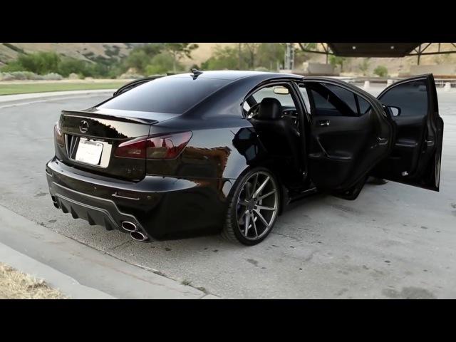 Lexus ISF l 20 Vossen VFS1 l Medusa's Spa Day