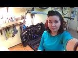 Ремонт велокамеры Клеим заплатку Как заклеить велокамеру