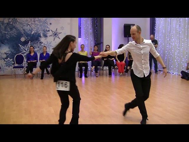 SwingSnow 2018 - Advanced JnJ Final - Renars Sirotins Ilmira Galieva - 3rd place