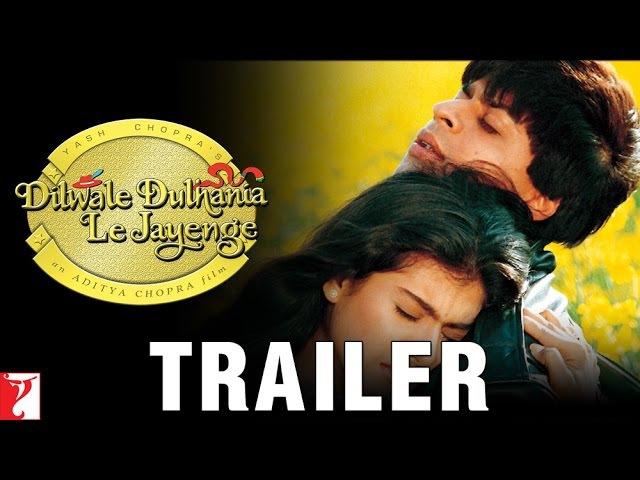 Dilwale Dulhania Le Jayenge - Official Trailer | Shah Rukh Khan | Kajol