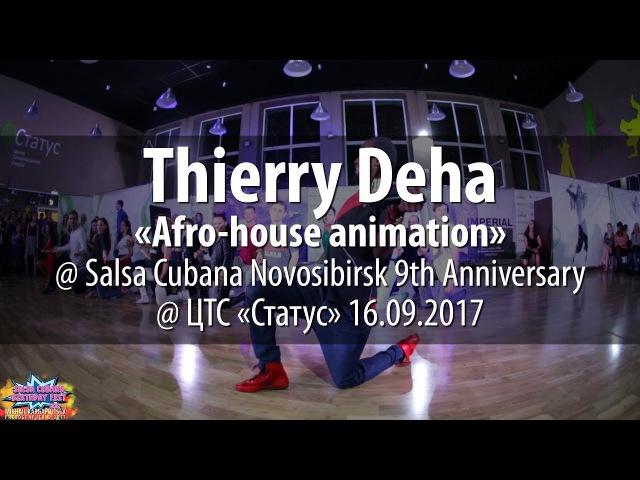 Thierry Deha afro-house animation @ 9th Salsa Cubana Novosibirsk Anniversary 2017.09.16