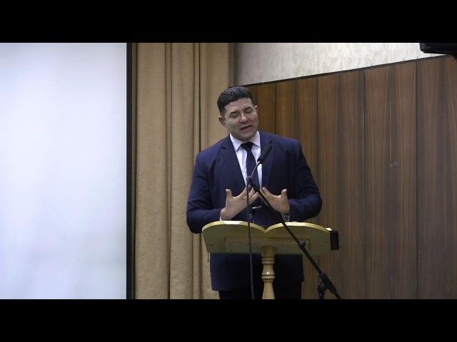 Проповедь( Исцеление слепого) Аристов С .В.