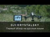 DJI CrystalSky - Первый обзор на русском языке