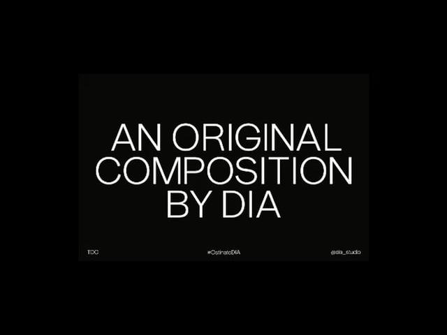 Mitch Paone: Ostinato/DIA
