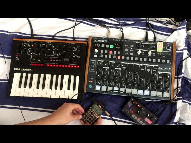 Noisy jam - 5 (monologue drumbrute PO-28 microgranny)