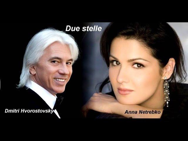 A.Netrebko e D.Hvorostovsky in sublime melodie russe (sottotitoli italiani).