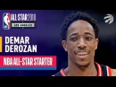 DeMar DeRozan 2018 All-Star Starter | Best Highlights 2017-2018