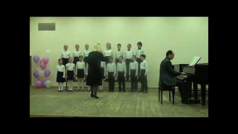 107368 Младший хор МБУДО ДМШ №10, г. Новосибирск - Проводы Зимы – Лягушонок