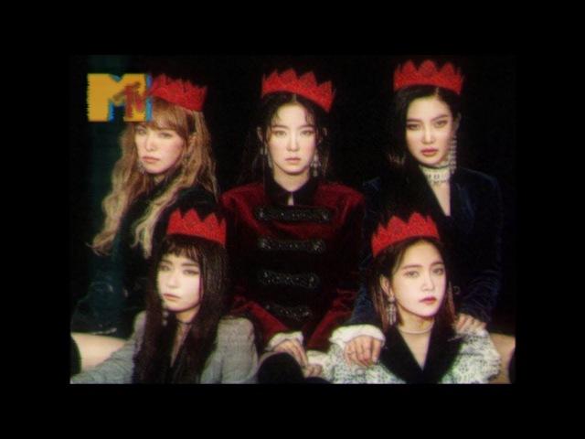 Red Velvet Peek a Boo 1980s concept