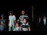 Исмагил Шангареев с сыновьями и внучками и Рамиль хазрат Садеков со своей семьёй попали под проливной дождь.