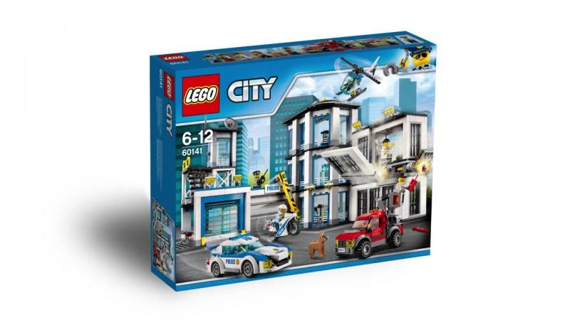 Конструктор Lepin 02020 Полицейский участок 965 деталей