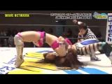 ASUKA, Yuu Yamagata vs. Hikaru Shida, Mika Iida vs. Hiroe Nagahama, Moeka Haruhi (WAVE - White Breath)
