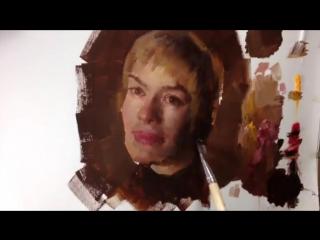 Серсея Ланнистер / Cersei by Zin Lim