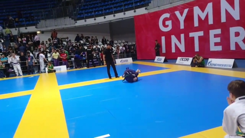 GYMNASIUM CUP X INTERNATIONAL_финал_Винокурова Александра VS Denisa Kocmanikova