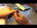 Наращивание ногтей с помощью акрила