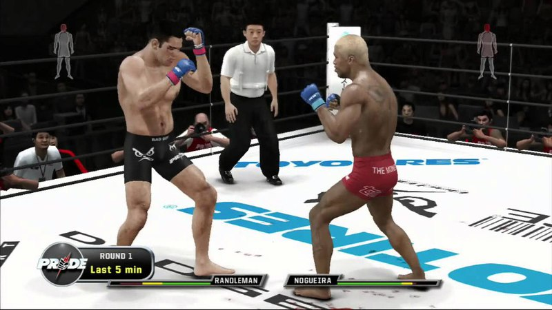 UFC 3 Antonio Nogueira vs Kevin Randleman - Knock the EFF Out (PS3/XBOX 360)