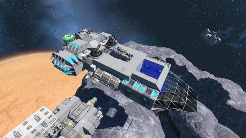 Space Engineers. Часть 13, Корабль проклят, строим новый