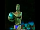 Владимир Маргослепенко. Силовой жонглер. 1992г. Гастроли в Будапеште