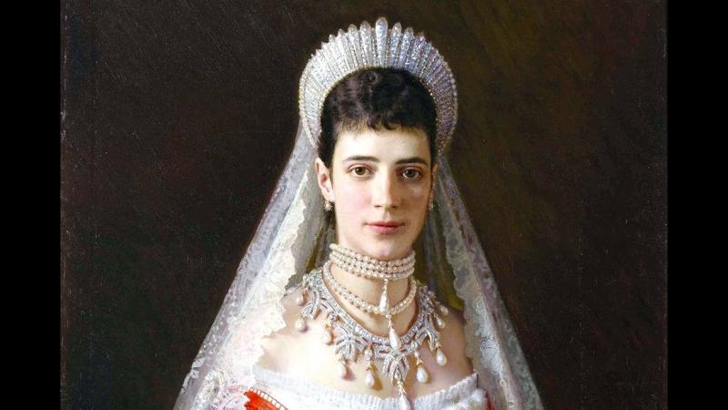 Императрица Мария Федоровна. Две сестры.