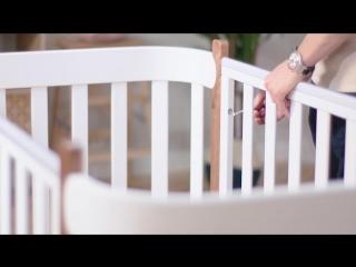 Кроватка трансформер MOMMY | Happy Baby