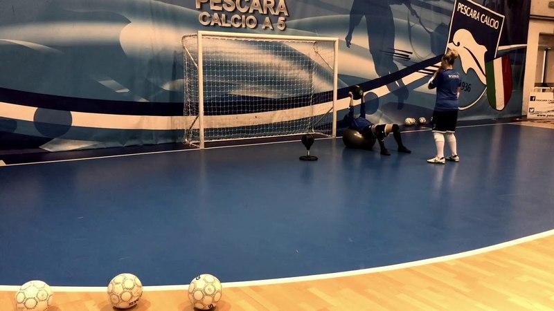 Ultimo Allenamento Pescara Femminile 2017-18