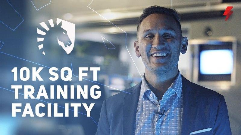 Steve unveils Team Liquid's new Alienware Esports Training Facility