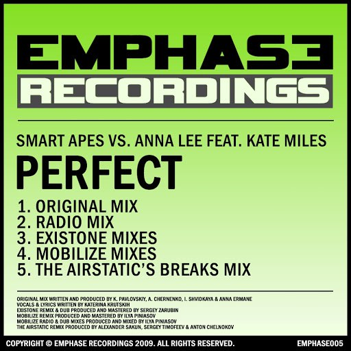 Smart Apes альбом Perfect
