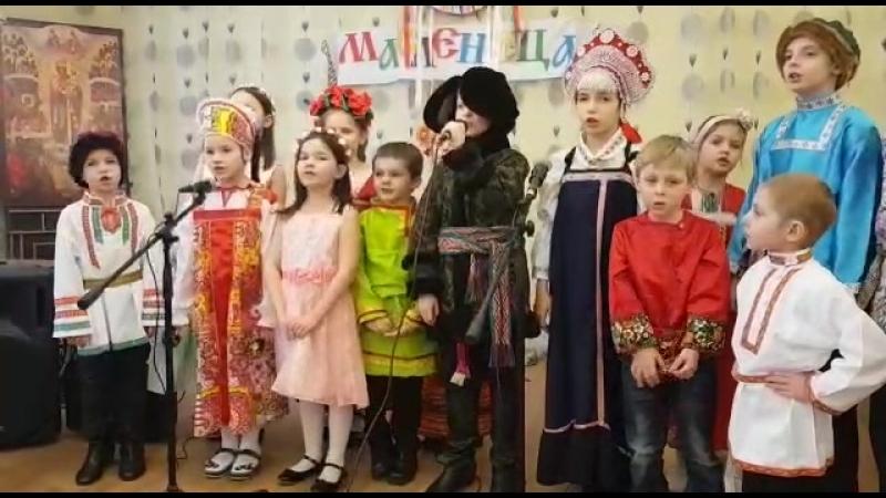 Раз морозною зимой вокальный ансамбль Кнопочки руководитель Ксения Земляникина
