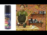 Saphir Аэрозольная краска для гладкой кожи.
