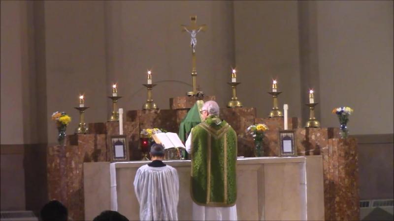 Ordinariate Mass (Sunday, Oct. 15, 2017)