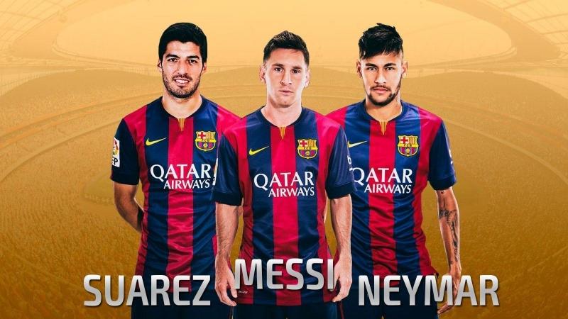 ● Top 30 Goals ● Messi, Suarez, Neymar - 2014-2015 HD