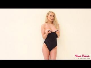 Busty Alexa Grace - sexy BTS 20