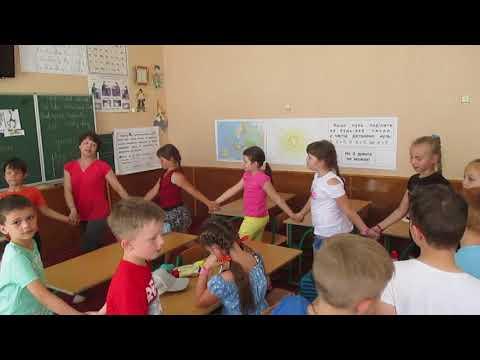 Заняття з німецької мови у мовному таборі 2018 - In Afrika leben